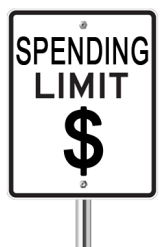 Spending Limit Sign