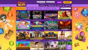 fever slots casino review games