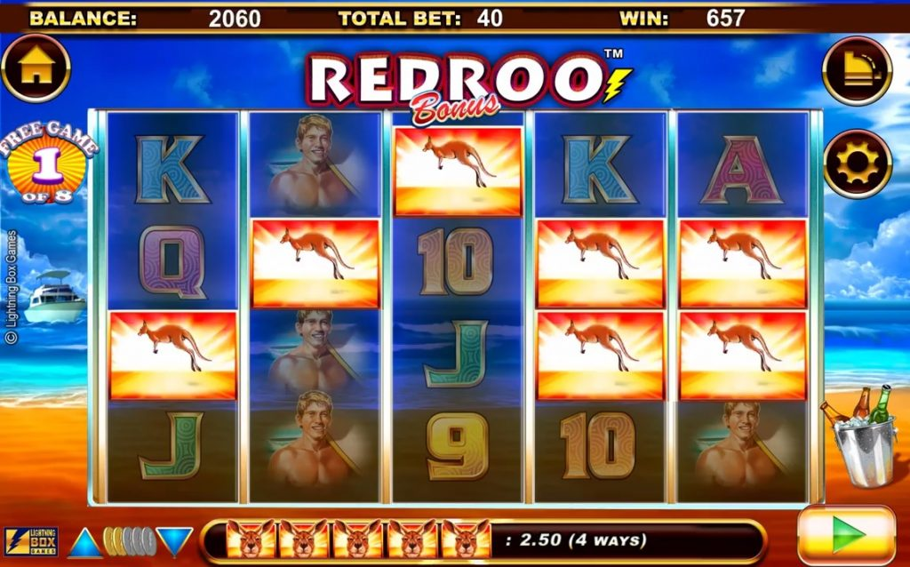 Redroo Free Spins Normal Win