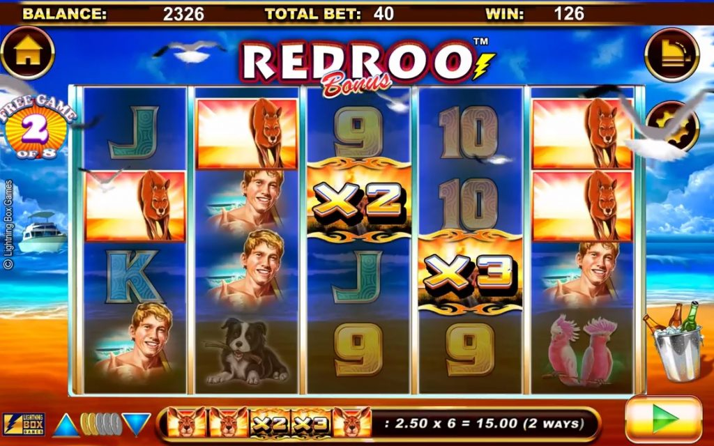 Redroo Free Spins Win Multiplier