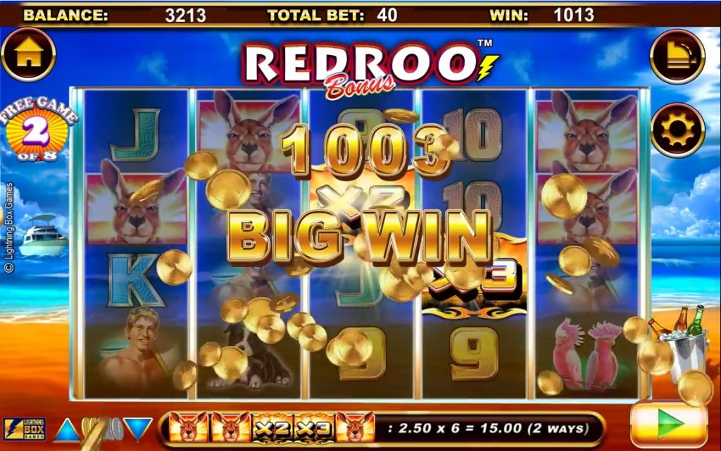 Redroo Super Big Win