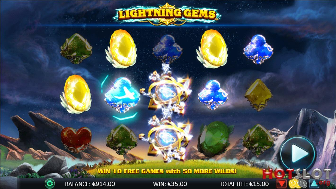 Lightning Gems Gameplay
