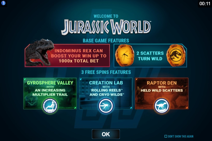 Jurassic World Bonus Features List
