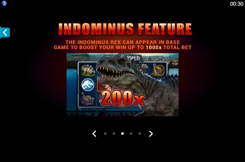 Jurassic World Indominous Feature