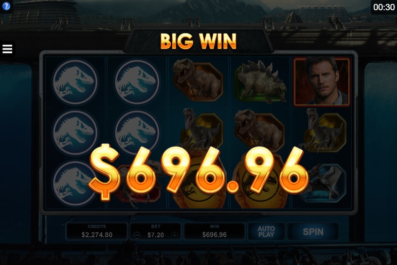 Jurassic World Super Big Win