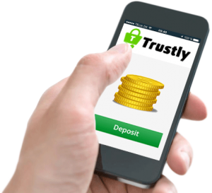 Trustly Deposit on Mobile