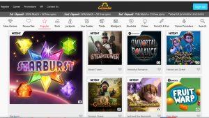 Casimba Casino Games