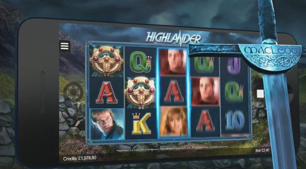 Highlander Slot on Mobile