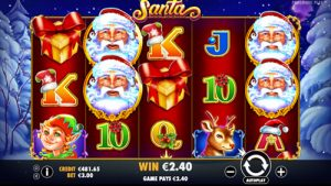 Pragmatic Play Santa Slot Screenshot