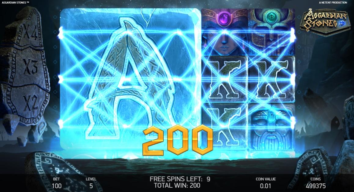 asgardian stones slot win